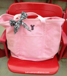 My Pink Bag of Swag from Lands' End.