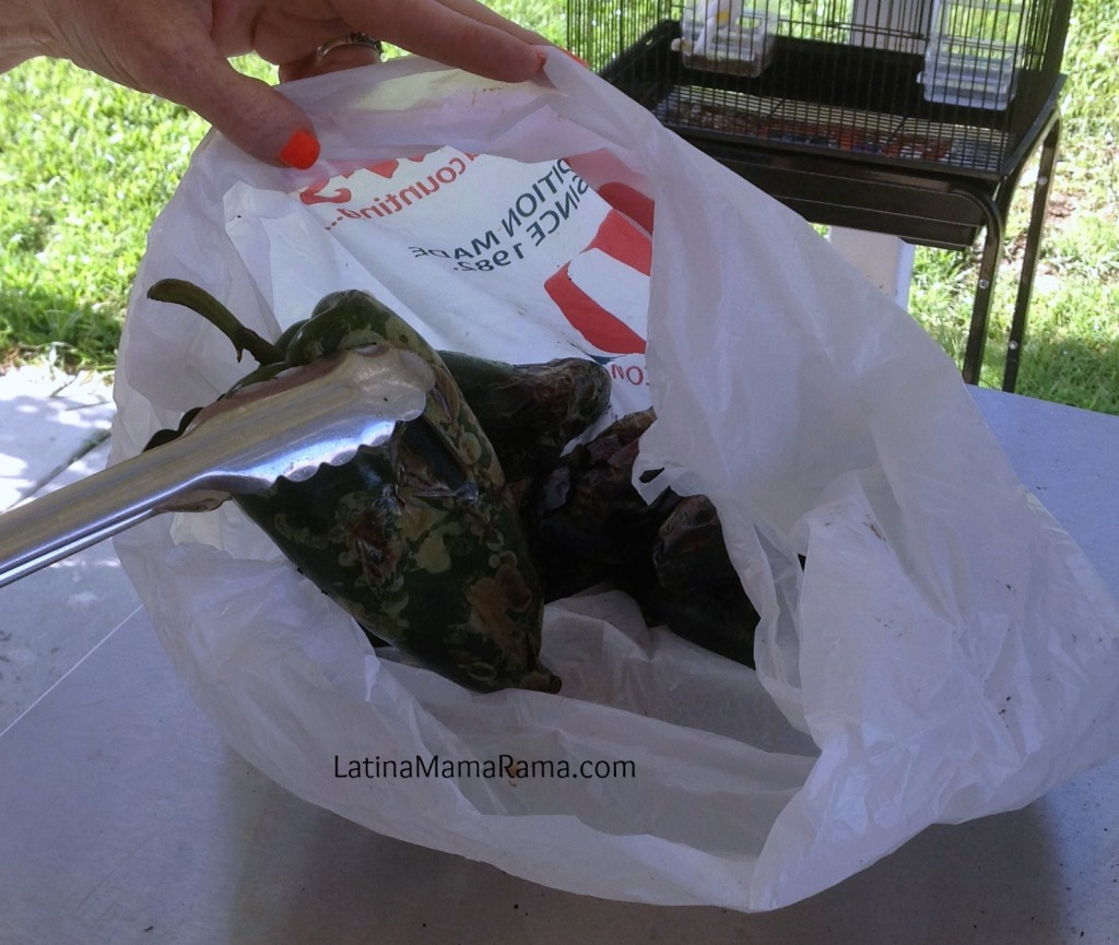 How to make chile rellenos:receta de chile rellenos