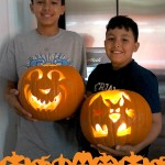 wordless wedneday-pumpkin carvings