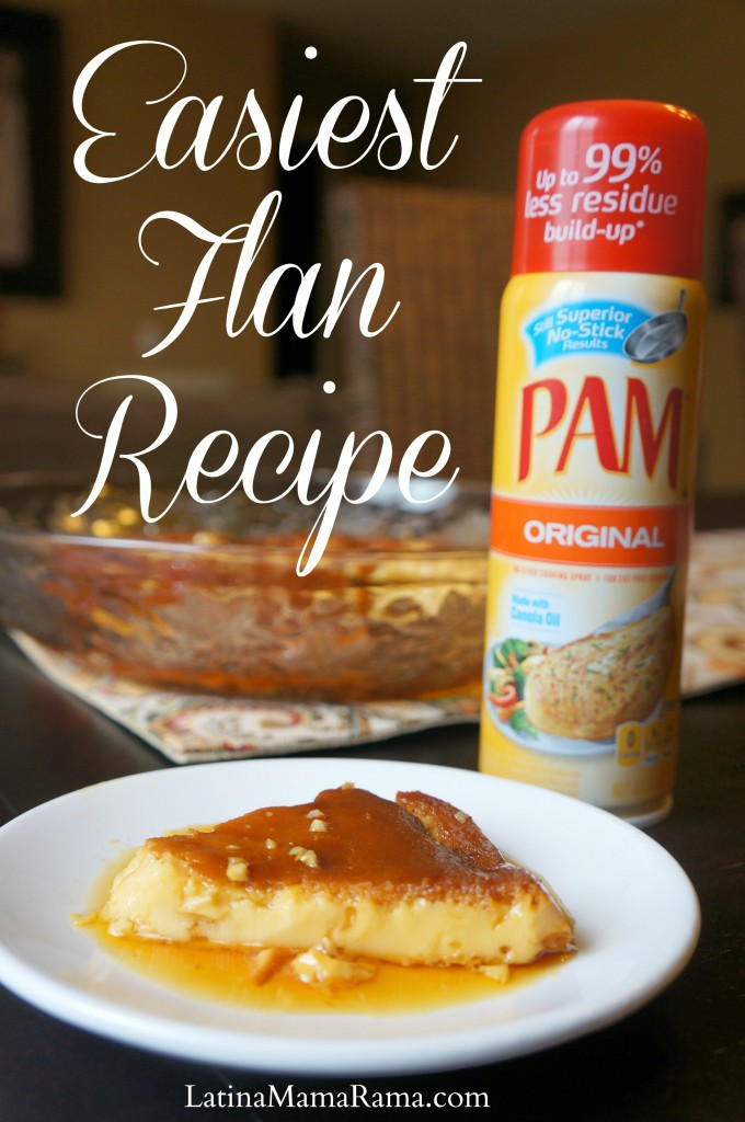 Easiest Flan Recipe