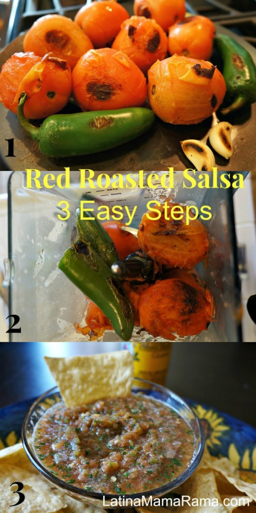 3 step red salsa