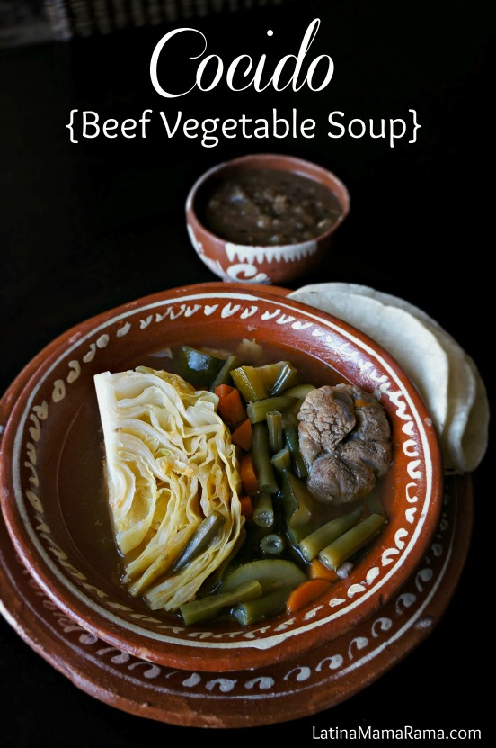 how to make cocido-beef vegetable soup