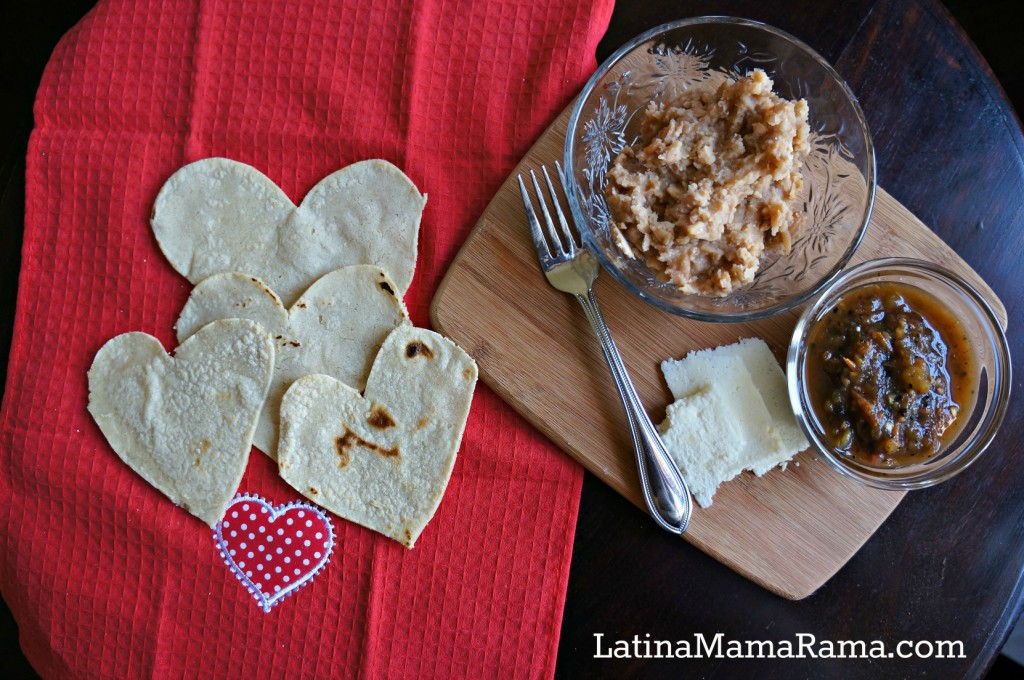 heart shaped homemade tortillas11z