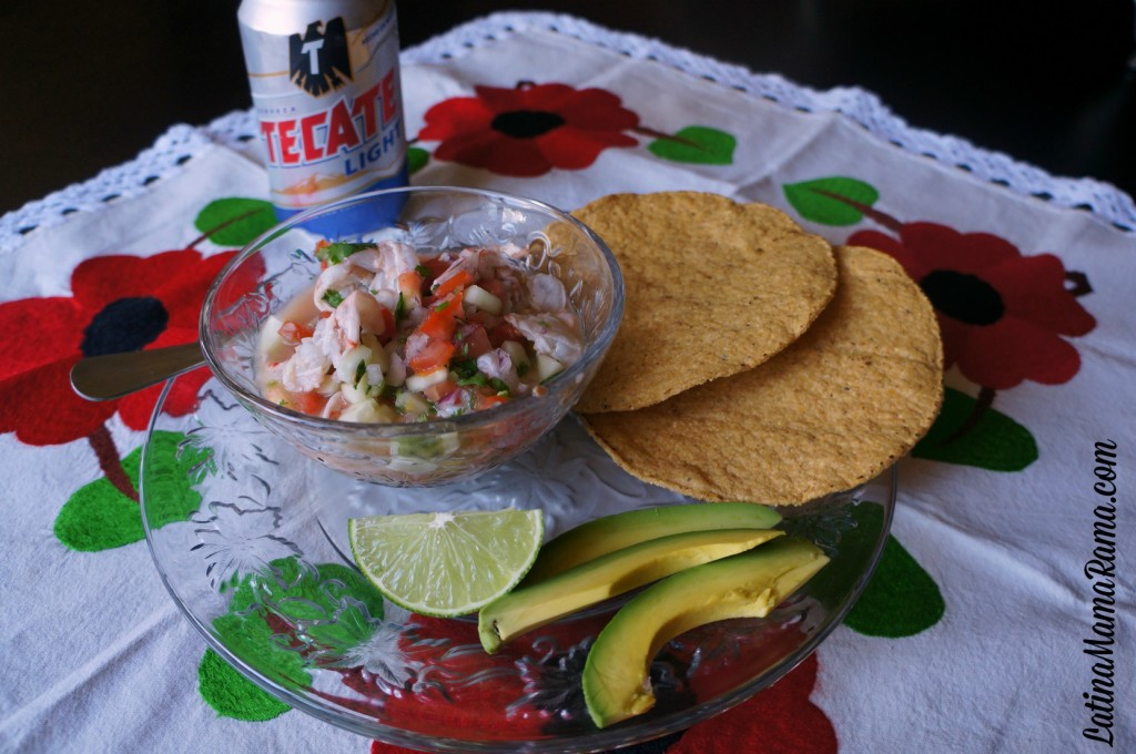 ceviche de camaron shrimp recipe