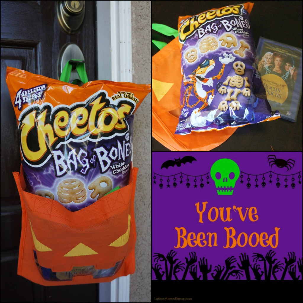"Family fun with Cheetos ""Bag of Bones"""