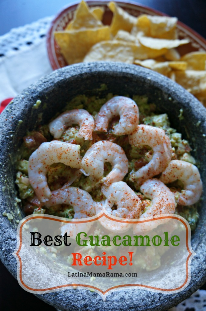 The Best Guacamole Recipe! - Latina Mama Rama