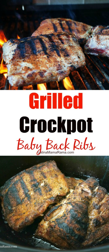 Grilled Crockpot baby back ribs 11
