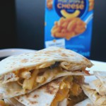 Macaroni & Cheese Southwest Quesadilla