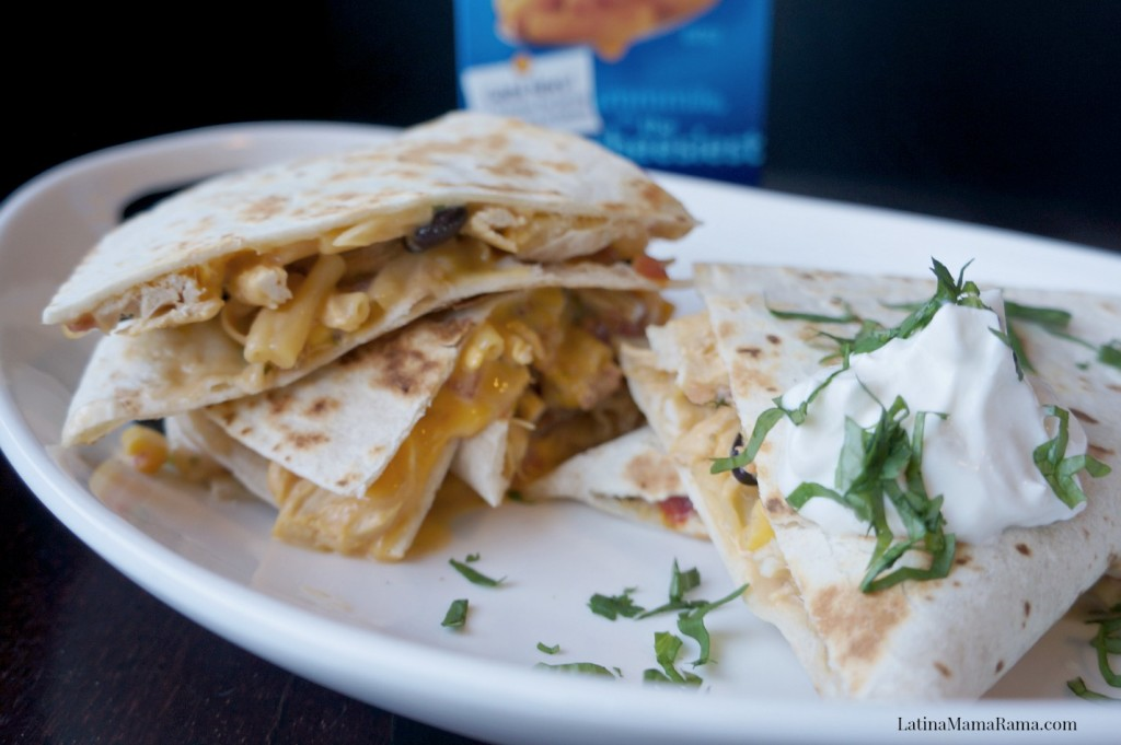 kraft macaroni and cheese southwest quesadilla 5