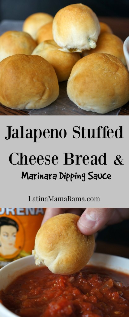 Jalapeño stuffed Cheese Bread PIN