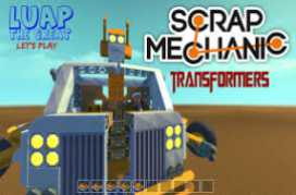 Scrap Mechanic Preview Beta